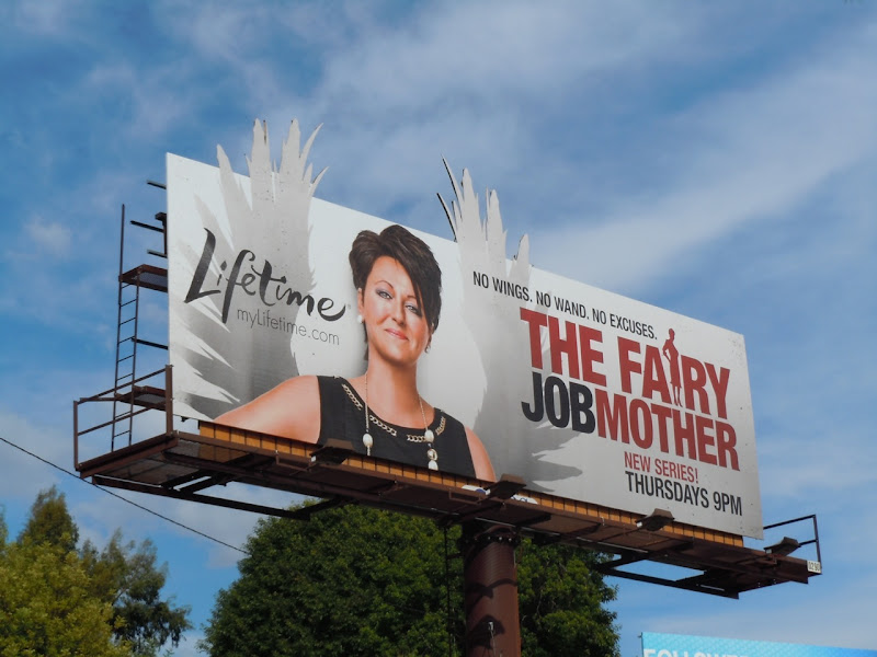 Fairy Jobmother TV billboard