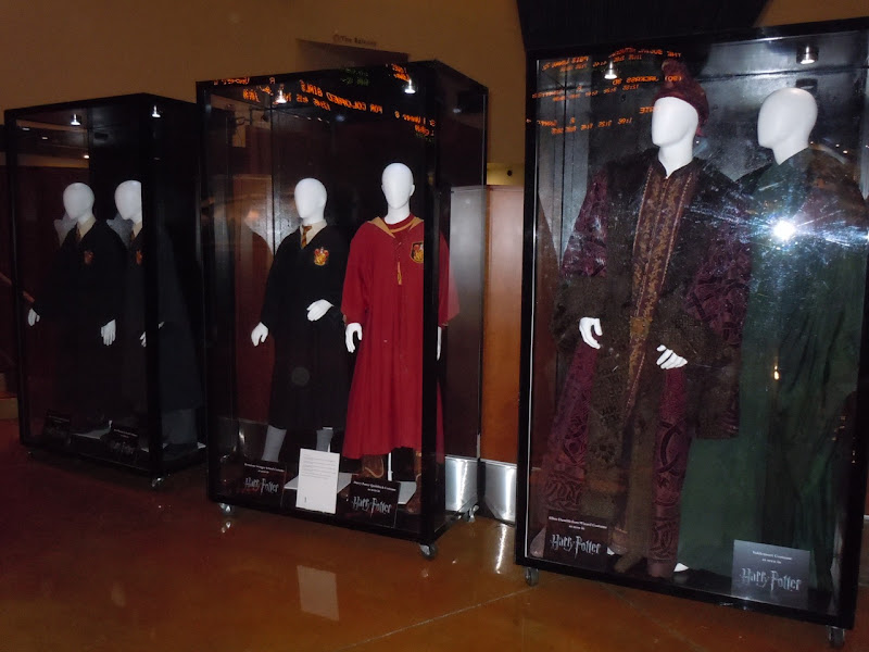 Harry Potter movie costume exhibit