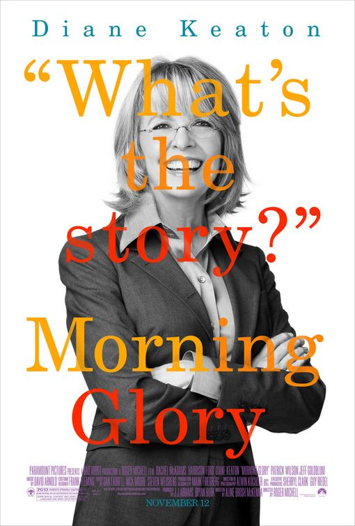 Diane Keaton Morning Glory poster
