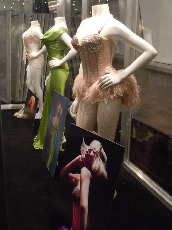Christina Aguilera Burlesque film costumes