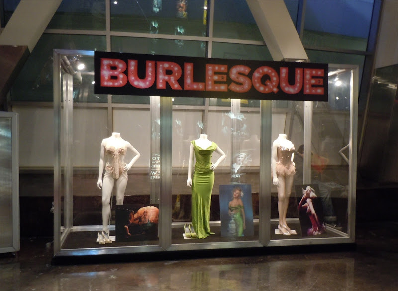 Burlesque movie costumes