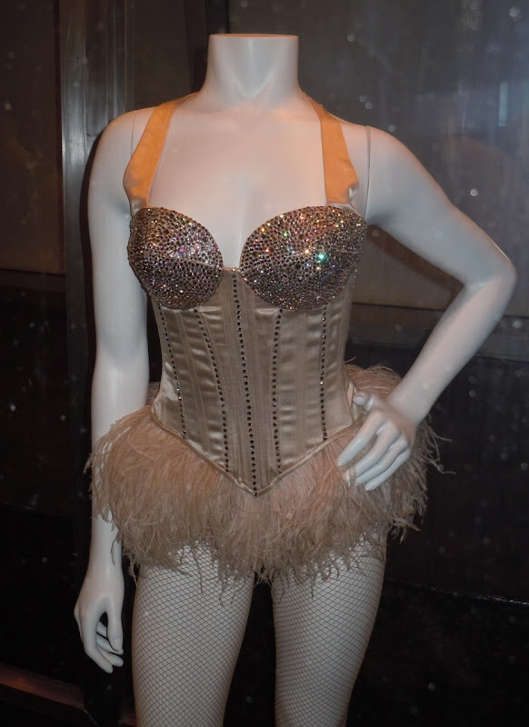 Burlesque Swarovski encrusted costume