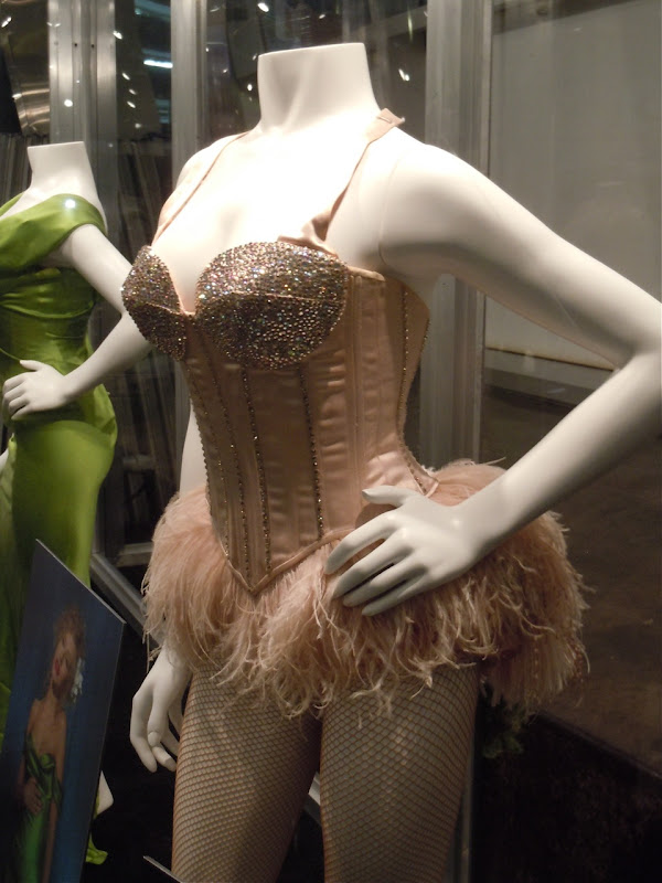 Swarovski encrusted Burlesque costume