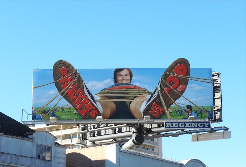 Gulliver's Travels Jack Black billboard