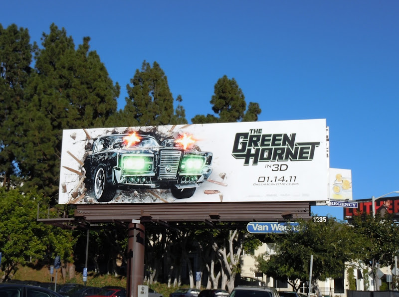 The Green Hornet billboard