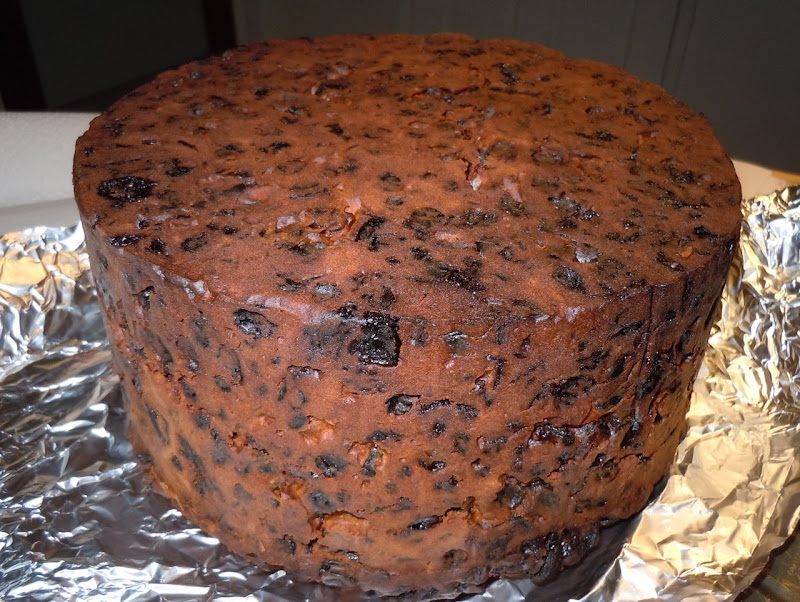 Jason's Christmas fruitcake