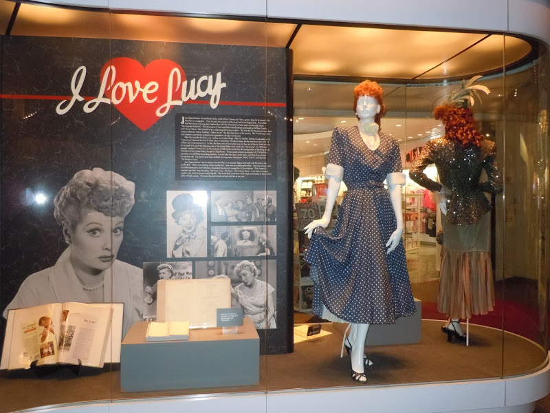 I Love Lucy TV costume display