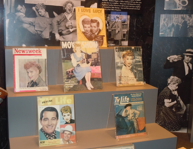 Lucille Ball magazine covers