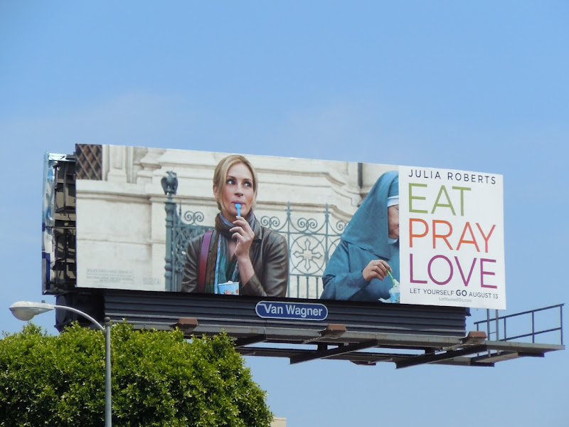 Eat Pray Love nun billboard