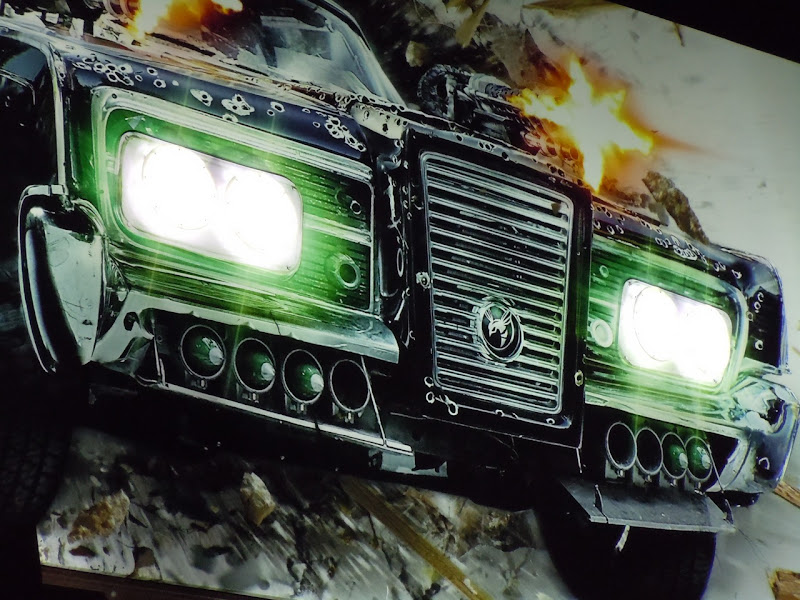 The Green Hornet billboard lights