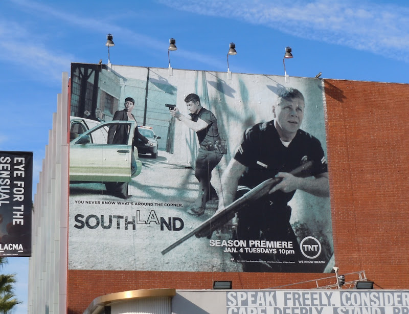 Southland season 3 TV billboard