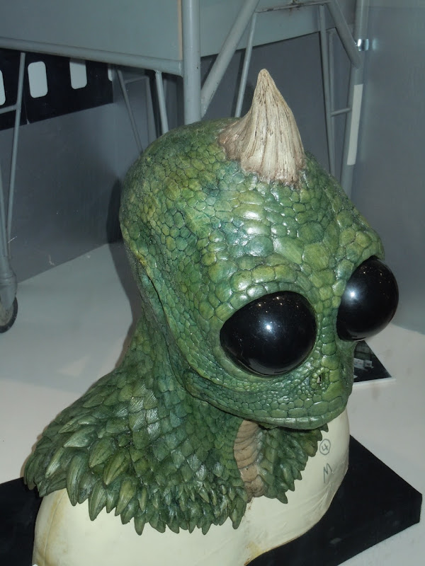 Land of the Lost prosthetic Sleestak head