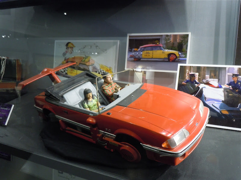 Back to the Future II miniature Mustang