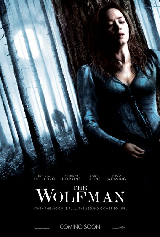 The Wolfman remake poster