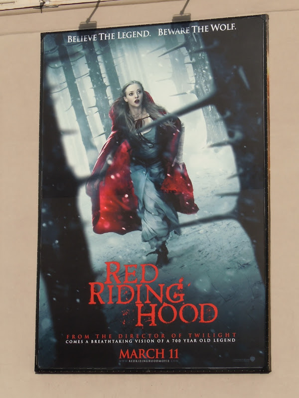 Red Riding Hood movie billboard