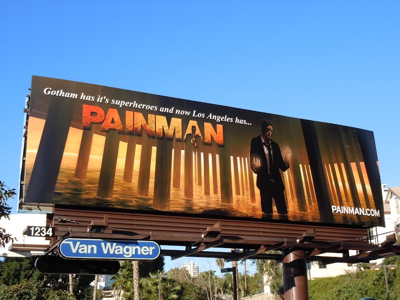 Painman motion comic billboard