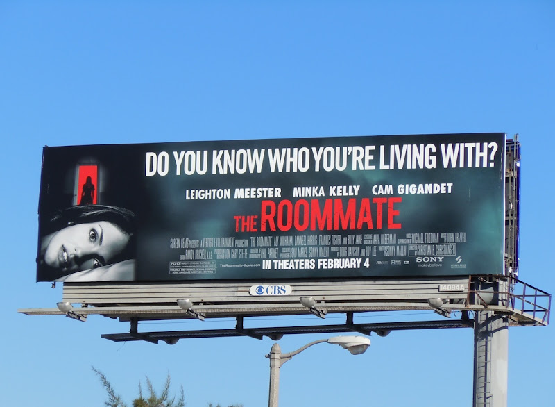 The Roommate movie billboard