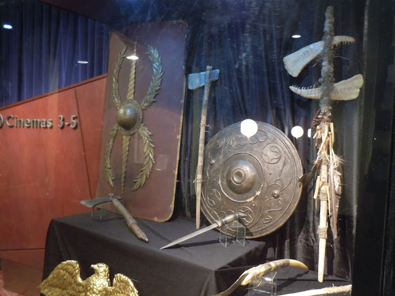 Original Eagle movie props
