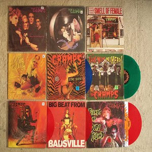 """CULT RECORD:CRAMPS:""""SONGS THE LORD TAUGHT US"""".(1980 ..."""