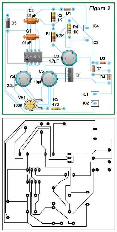 El Rincon De Los Circuitos Cargador De Baterias 12v