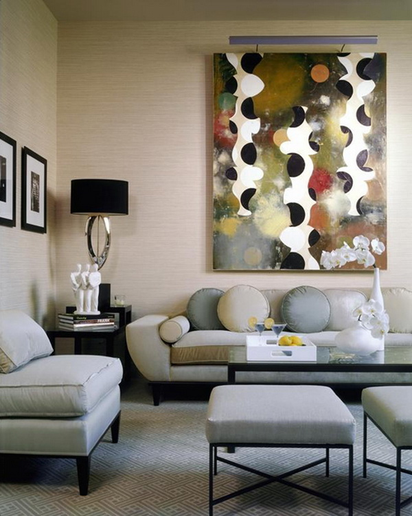 Artistic Living Room Decor: Creative Living Room Perspective Interior Design Ideas By