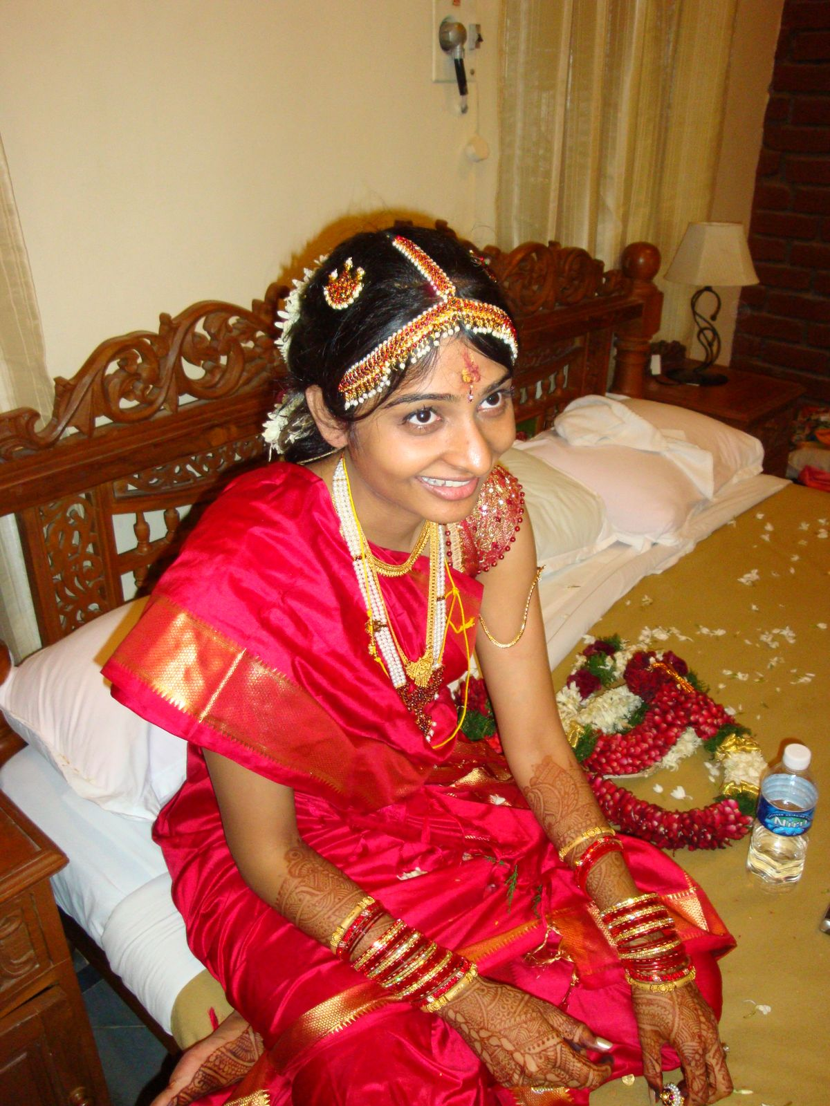 telugu web world: south indian andhra bridal hairstyles