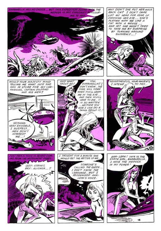 Atomic Kommie Comics: Reading Room: BARBARELLA 1.2