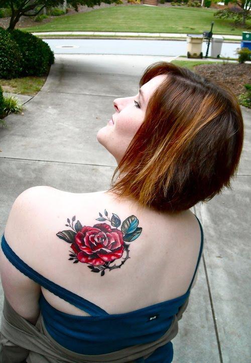 greatest tattoo tattoo: Rose Tattoos on Women