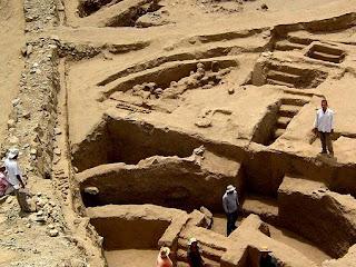 Sechin Bajo: découverte d'une des plus anciennes ville d'Amérique latine