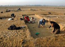 Egypte: découverte de ruines dans l'oasis de Fayoum