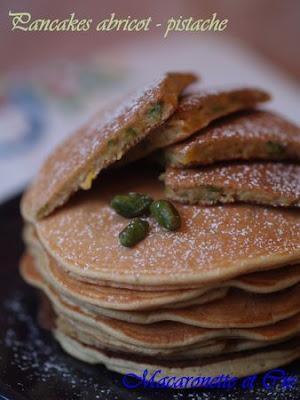 Pancake abricot-pistache