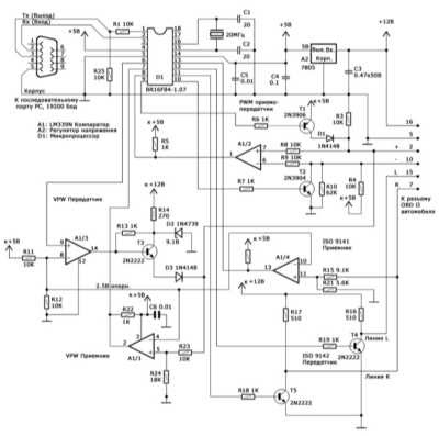car wiring diagram Wiring Diagram represents the controller of