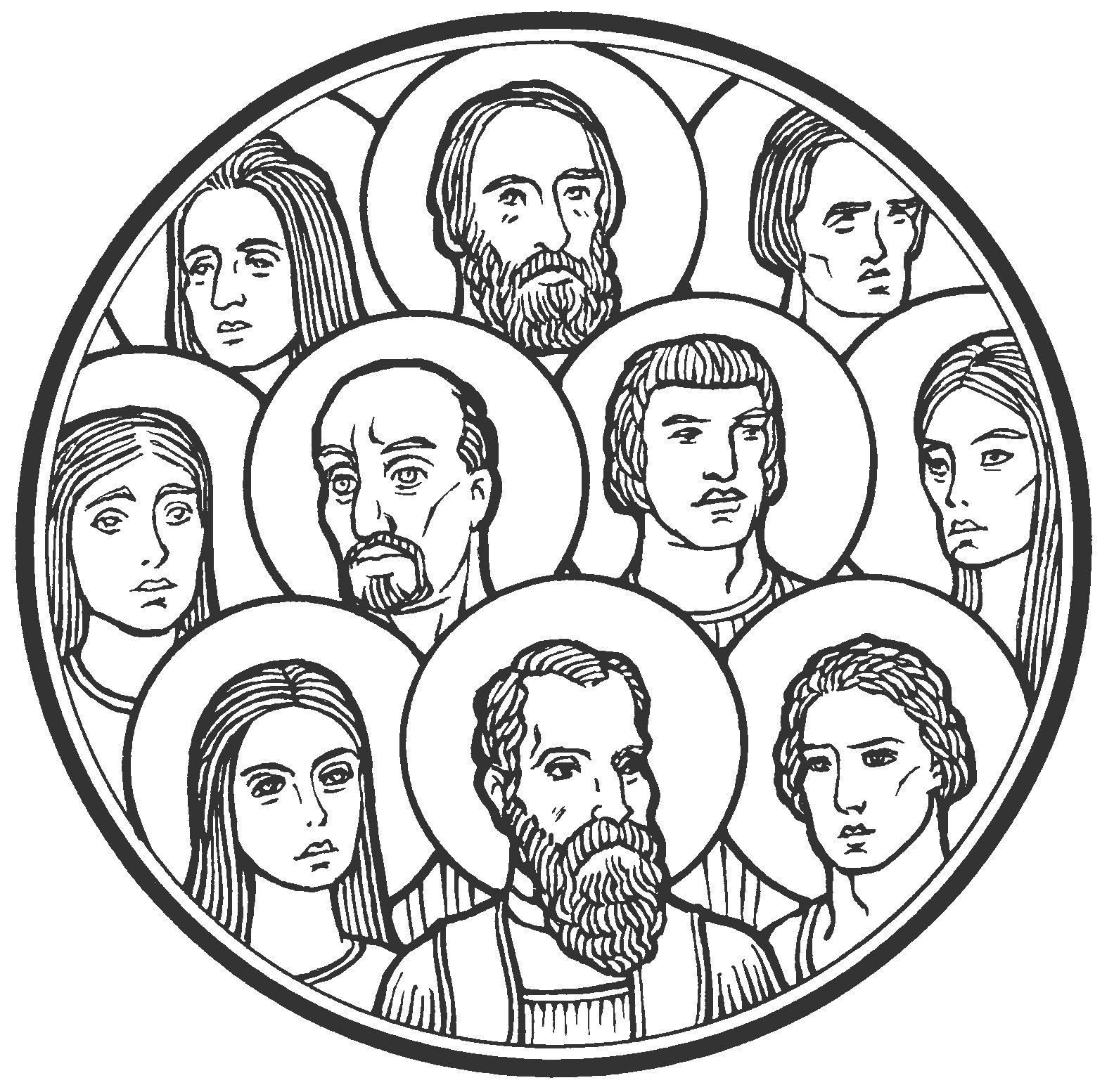Feast of All Saints Memorial Book