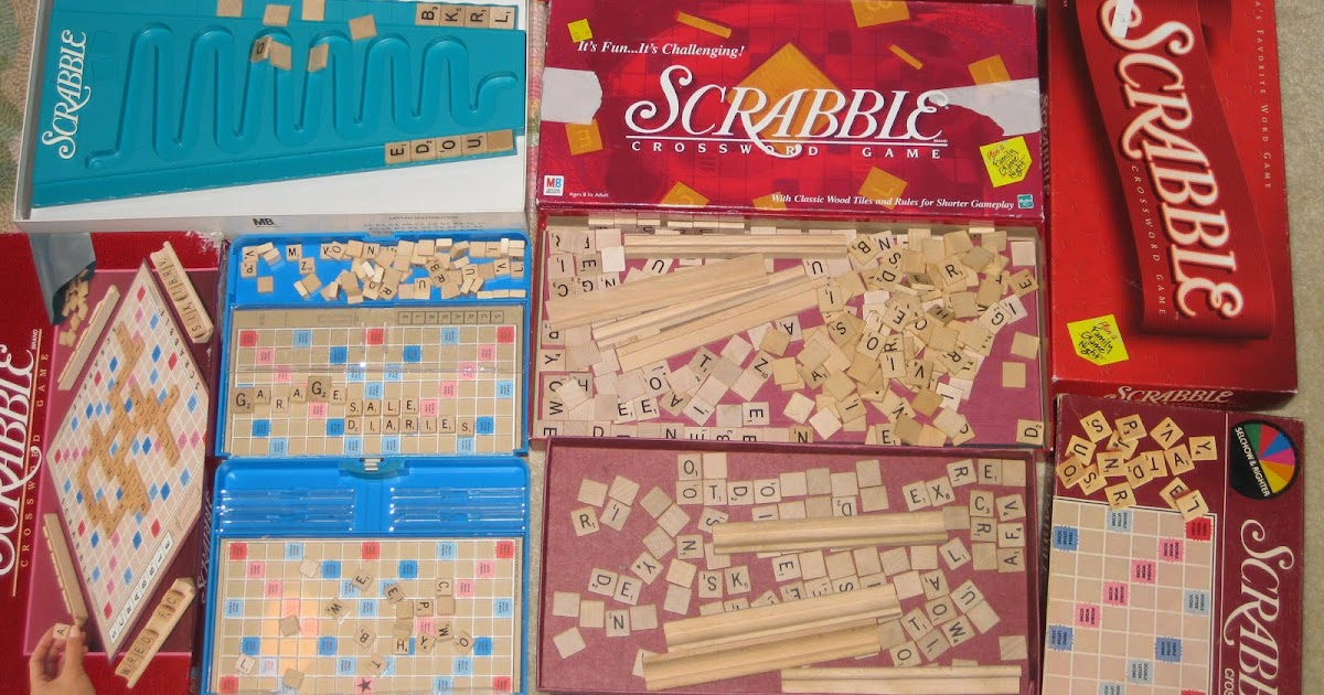 Garage Sale Diaries Scrabble Please
