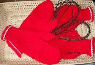 32f874aca192c8 U Antoniny: Jak wykonać rękawiczki dla zakochanych