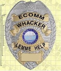 Locked My Keys In My Car >> Ote and note: Ham Radio Whacker Badge