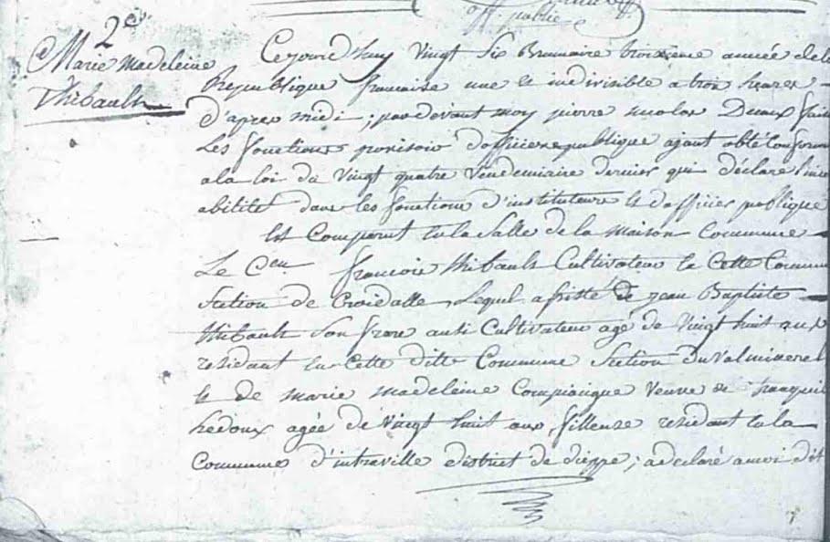 Conversion Calendrier Revolutionnaire.Oh Mes Aieux Les Archives Departementales