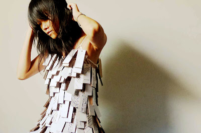 vestido criativo: roupa diferente