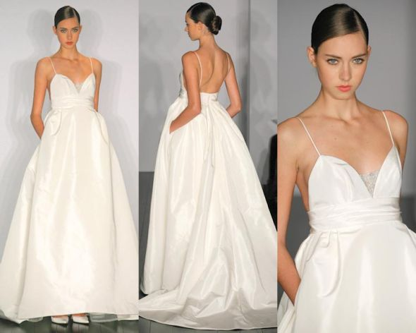 The Look 4 Less: Amsale Reese Wedding Dress