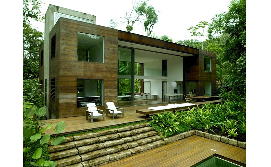 Natural Modern Interiors Indoor Outdoor Living By Richard