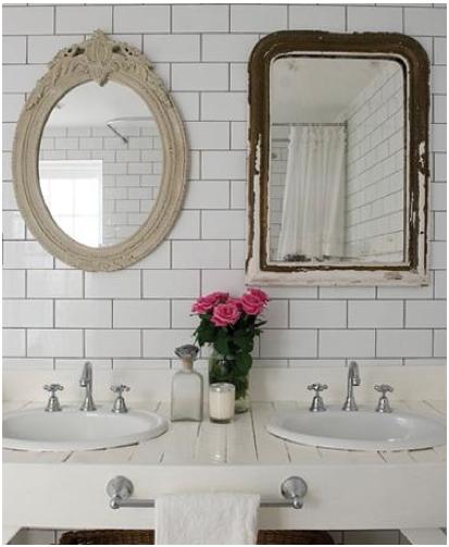 Natural Modern Interiors: Small Bathroom Design Ideas