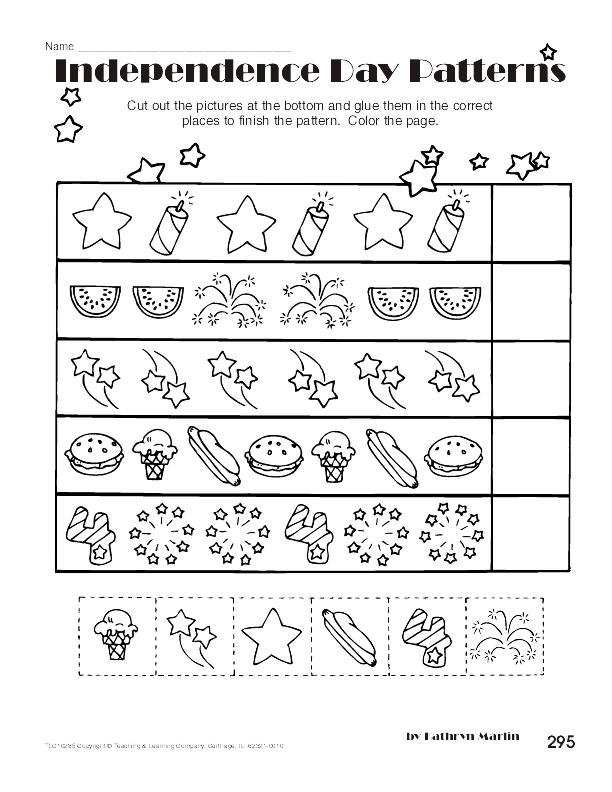 Fourth Of July Worksheets : Storytime th of july activities