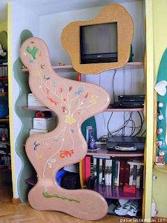 Diseño de mueble cretivo