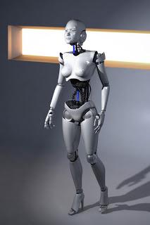 Ginoide, mujer robot y arte digital