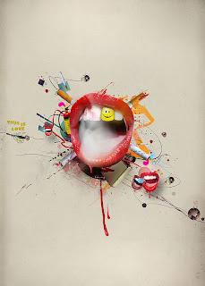 Ideas creativas retoque digital labios