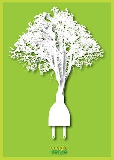 cartel sobre la energia verde