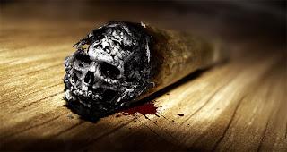 creativo cartel, no fumar