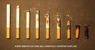campaña creativa no fumar