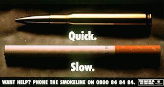 fotografía no fumar