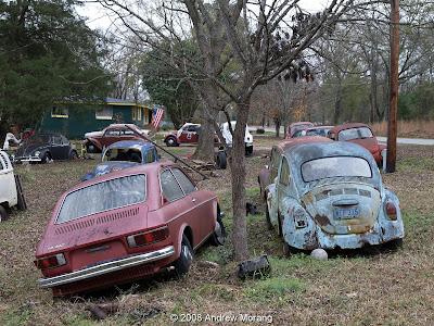 Volkswagen junk yard
